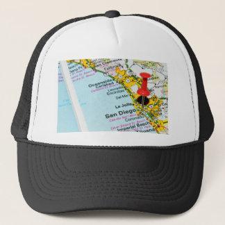 San Diego, California Trucker Hat