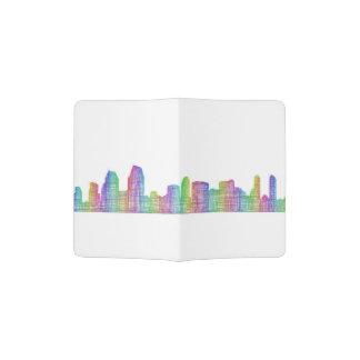 San Diego city skyline Passport Holder