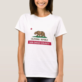 San Diego County California T-Shirt