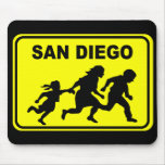 San Diego Crossing Mouse Pad