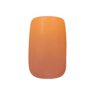 San Diego Dark Orange with Lighter Option Sunset Minx Nail Art