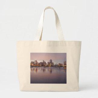 San Diego Dock Large Tote Bag