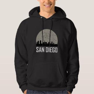 San Diego Full Moon Skyline Hoodie