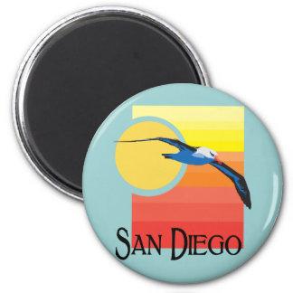 San Diego Gull Fridge Magnets