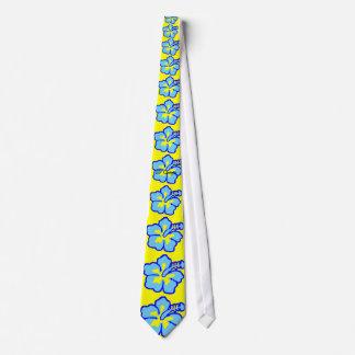 San Diego Hibiscus Flower Tie