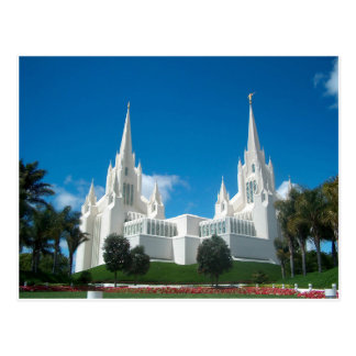 San Diego LDS Temple Postcard