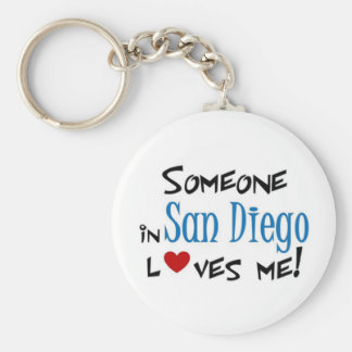 San Diego Love Keychain