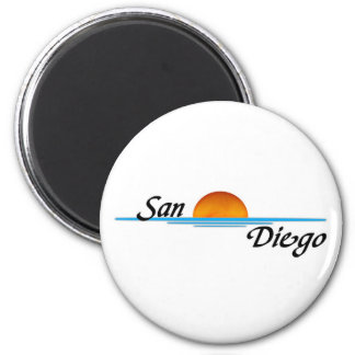 San Diego Refrigerator Magnet