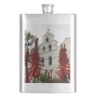 San Diego Mission Hip Flask