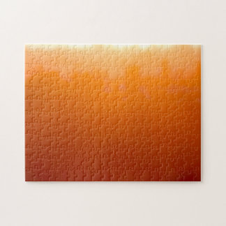 San Diego Moody Orange Impressionist Sunset Puzzles