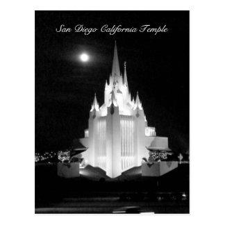 San Diego Mormon Temple Postcard
