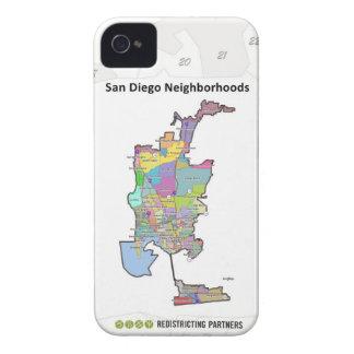 San Diego Neighborhoods iPhone 4 Case-Mate Case