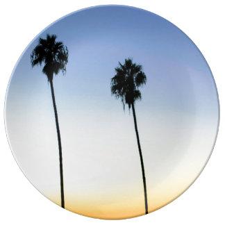 San Diego Palms Plate