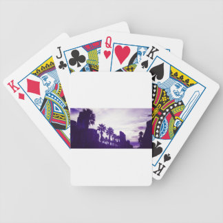 San Diego Purple Bicycle Playing Cards