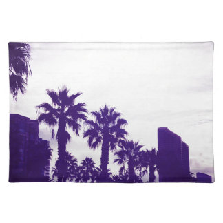 San Diego Purple Placemat