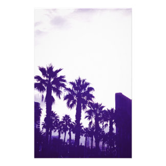 San Diego Purple Stationery