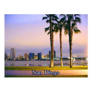 San Diego Shoreline Carte Postale