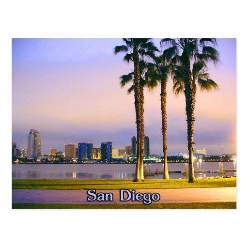 San Diego Shoreline Cartes Postales