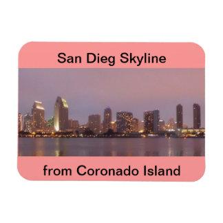 San Diego Skyline Flexy  Magnet