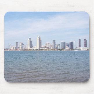 San Diego Skyline Mouse Pad