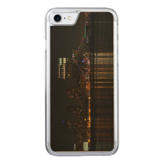 San Diego Skyline Night Carved iPhone 7 Case