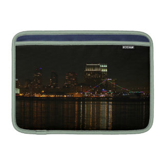 San Diego Skyline Night MacBook Sleeves