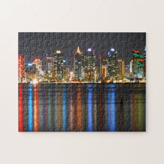 San Diego Skyline Puzzle