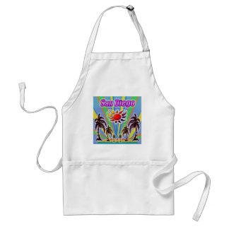 San Diego Summer Love Apron