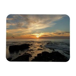 San Diego Sunset I California Seascape Magnet