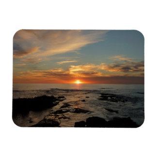 San Diego Sunset II California Seascape Rectangular Photo Magnet