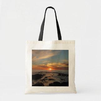 San Diego Sunset II California Seascape Tote Bag
