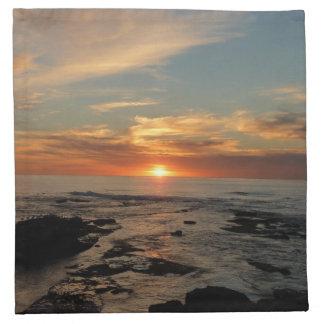 San Diego Sunset II Napkin