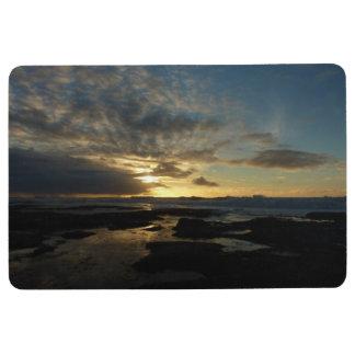 San Diego Sunset III Stunning California Landscape Floor Mat