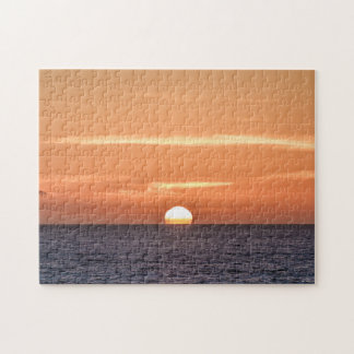 San Diego Sunset over the Pacific Ocean Jigsaw Puzzle