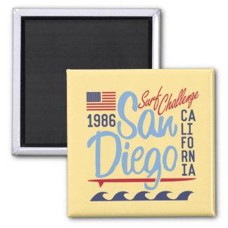 San Diego Surf Challenge 1986 Magnet
