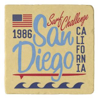 San Diego Surf Challenge 1986 Trivet
