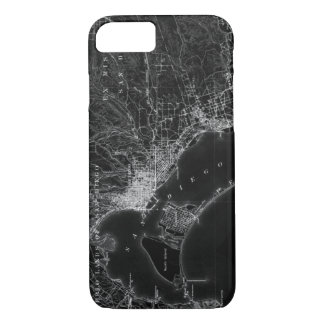 San Diego Vintage Map iPhone 8/7 Case