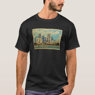 San Diego Vintage Travel T-shirt