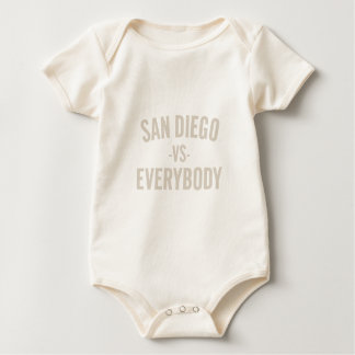 San Diego Vs Everybody Baby Bodysuit