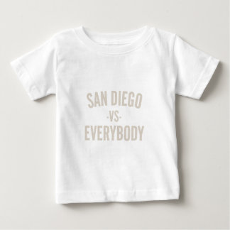 San Diego Vs Everybody Baby T-Shirt