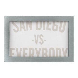 San Diego Vs Everybody Belt Buckle