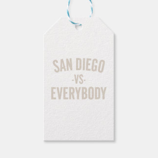 San Diego Vs Everybody Gift Tags