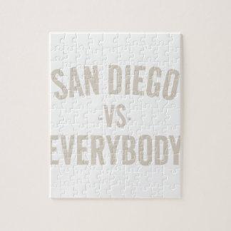San Diego Vs Everybody Jigsaw Puzzle