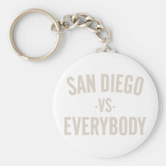 San Diego Vs Everybody Keychain