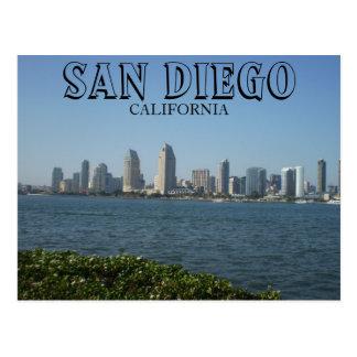 San Diego - vue du centre ville de l'île de Carte Postale