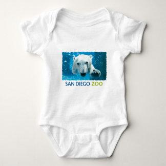 San Diego Zoo Polar Bear Baby Bodysuit