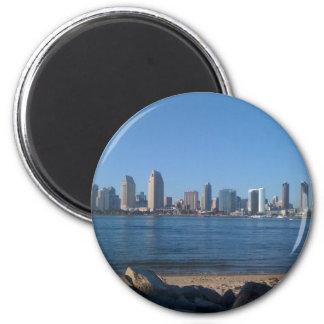 San Disgo 2 Inch Round Magnet