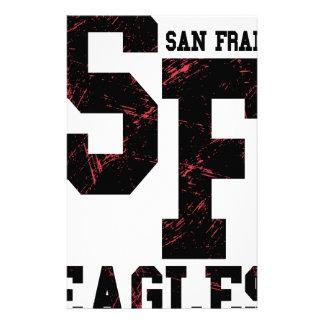 San Fran eagles Custom Stationery