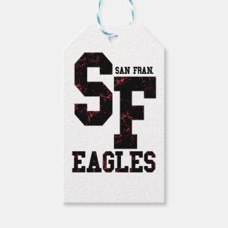 San Fran eagles Gift Tags