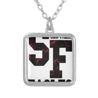 San Fran eagles Silver Plated Necklace